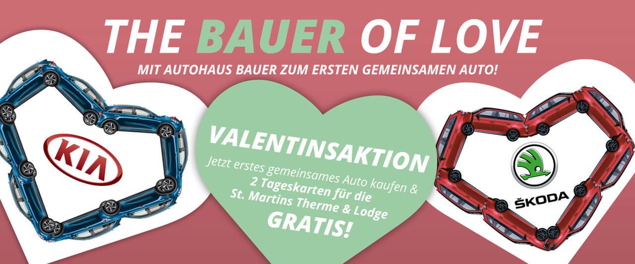 Autohaus Bauer - Valentinstagaktion