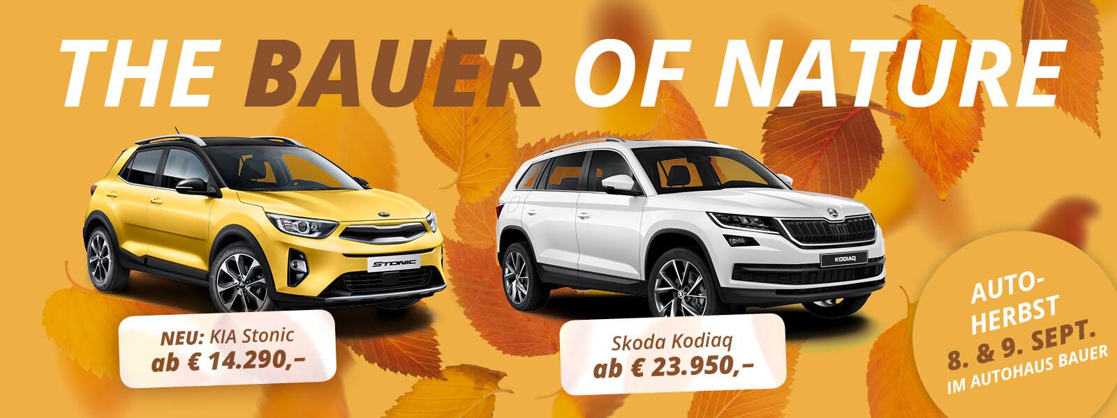 Autohaus Bauer | Skoda | Kia | Bauer of Nature - 8. & 9. September