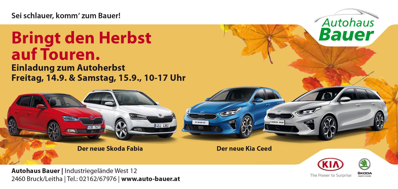 Autohaus Bauer Autoherbst Bruck an der Leitha
